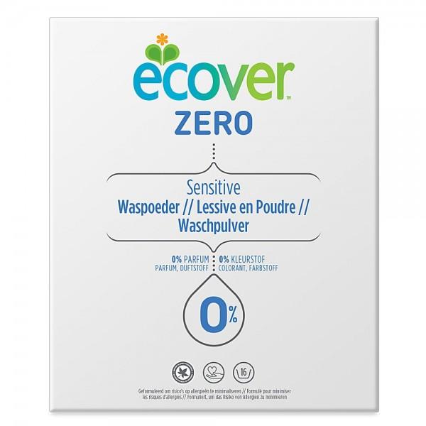 3 x Ecover ZERO Sensitive Waschpulver je 1,2 Kg 48 Waschladungen