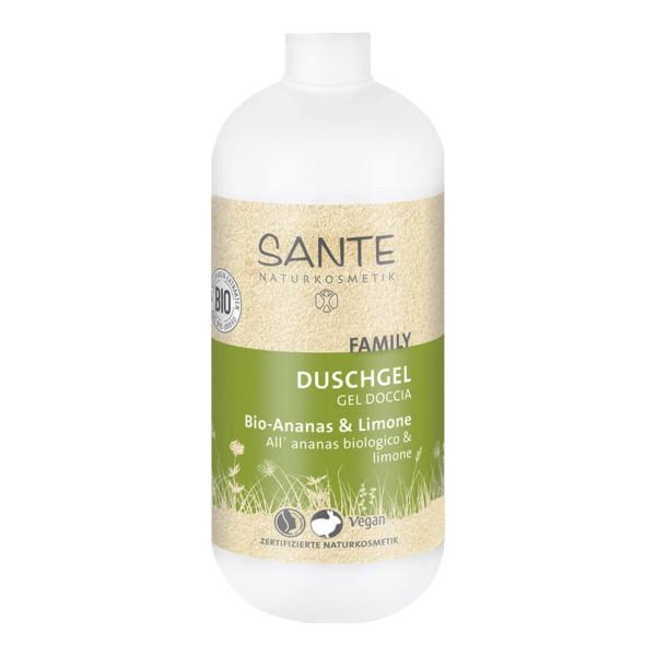 SANTE Naturkosmetik Family Duschgel Bio Ananas und Limone 200ml Vegan