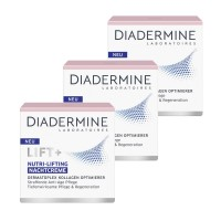 3x Diadermine LIFT+ Nachtpflege Nutri-Lifting Nachtcreme je 50ml