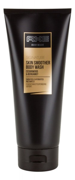 6x Axe Signature Skin Smoother Bodywash je 200ml Duschgel