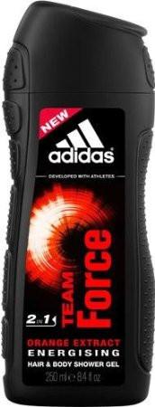 Adidas Team Force Duschgel 250ml Körper+Haare+Gesicht