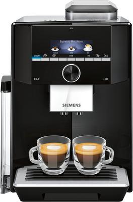 Siemens Kaffeevollautomat EQ.9 s300 Schwarz, Edelstahl TI923509DE
