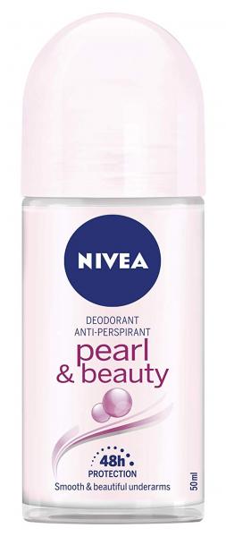 6x Nivea Roll on Pearl & Beauty Women Anti-Transpirant je 50ml