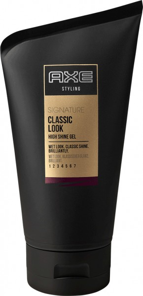 AXE Styling Haargel Signature Wetlook Classic 125ml