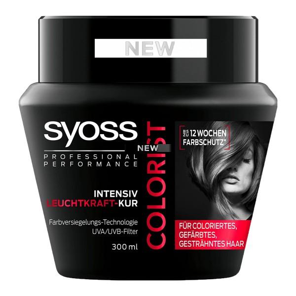 2x Syoss Colorist Intensiv Leuchtkraft Kur je 300ml Haarkur für coloriertes Haar