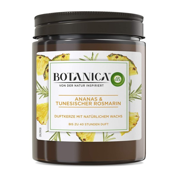 6 x Air Wick Botanica Duftkerze - Ananas & Tunesischer Rosmarin je 205g