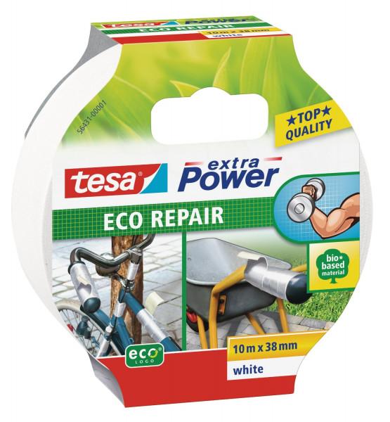 3 x tesa extra Power Eco Repair weiß jeweils 10m x 38mm