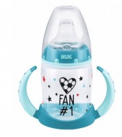 4x NUK First Choice Trinklernflasche 6-18m je 150ml