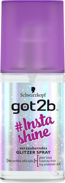 Schwarzkopf Got2b Instashine Glitzer Spray 75ml