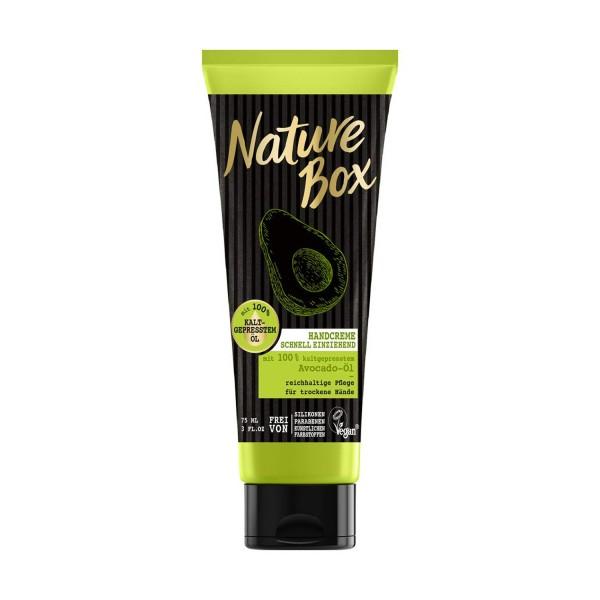 3 x Nature Box Handcreme Avocado-Öl je 75 ml Pflege für die Hände