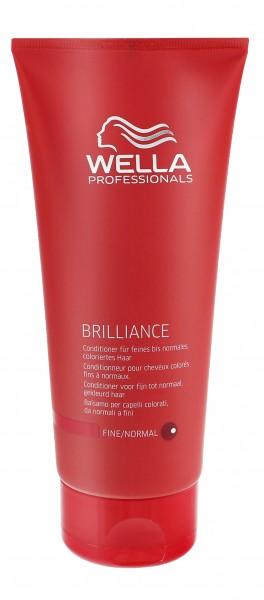 Wella Brilliance Conditioner für feines bis normales & coloriertes Haar 200 ml
