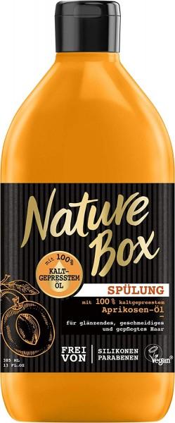 3x Nature Box Spülung Aprikosen-Öl für geschmeidiges Haar je 385ml