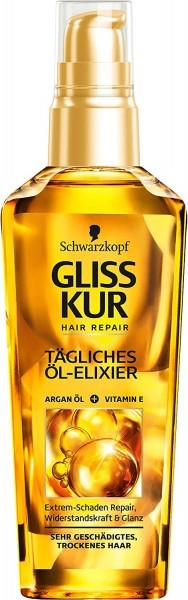 Schwarzkopf Gliss Kur Tägliches Öl-Elixier Hair Repair 75ml