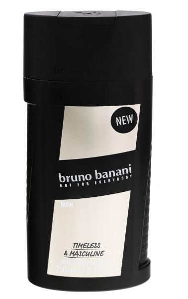 3 x Bruno Banani MAN Hair & Body Shower Haar & Körper Duschgel je 250 ml