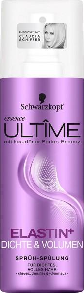 3 x Schwarzkopf essence Ultime Sprüh-Spülung für dichtes und volles Haar je 200ml
