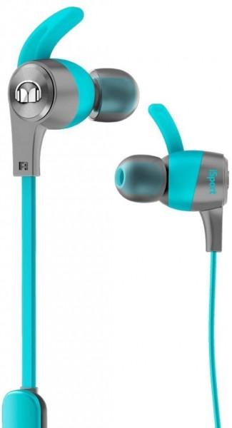 Monster iSport Achieve Wireless In Ear Headphone blau Kopfhörer