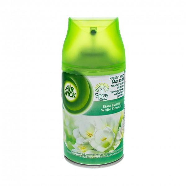 6 x Air Wick Freshmatic Refill je 250ml White Flowers