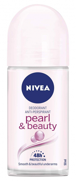 3x Nivea Roll on Pearl & Beauty Women Anti-Transpirant je 50ml