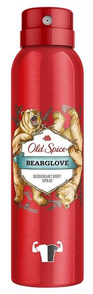 6 x Old Spice Bearglove Deodorant Bodyspray für Männer je 150ml