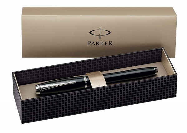 Parker UrbanFashion London Cab Black Lacquer CT Rollerball Pen