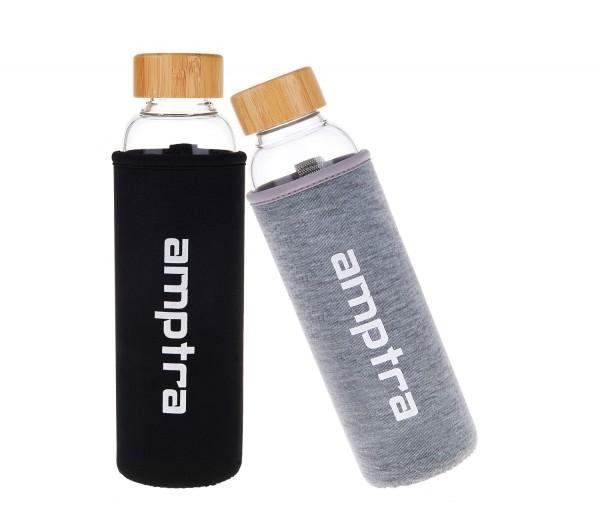 amptra Trinkflasche Glas 550ml verschiedene Ausführungen