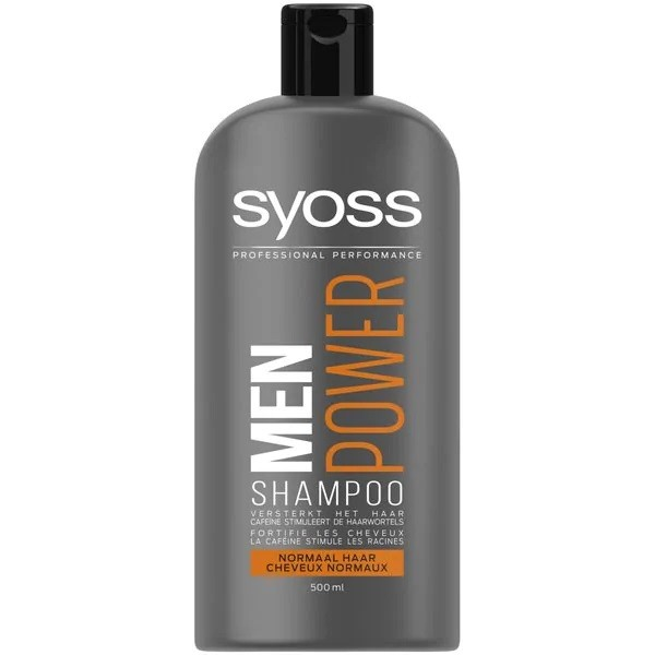 Syoss Men Power Shampoo Normales Haar 500 ml