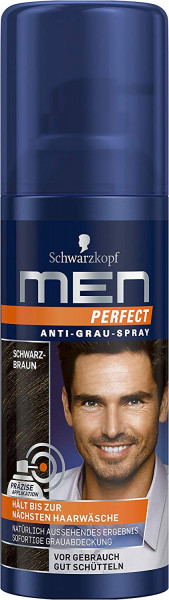 Men Perfect Anti-Grau-Spray Schwarzbraun 120 ml