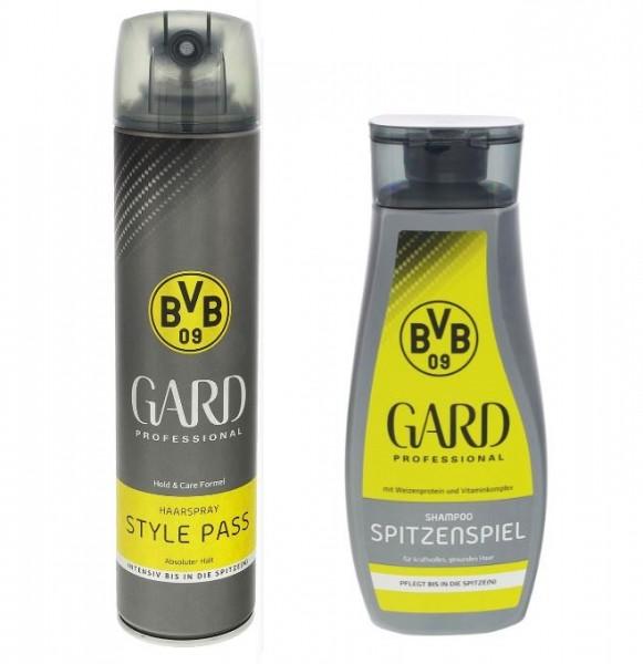 Gard Haarspray und Shampoo BVB Style jeweils 250ml