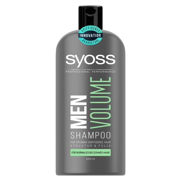 SYOSS Professional Performance Men Volume Shampoo 500ml normales bis dünnes Haar