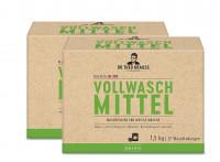 2 x Dr. Theo Krauss Vollwaschmittel je 22 Waschladungen Sensitiv je 1,5kg