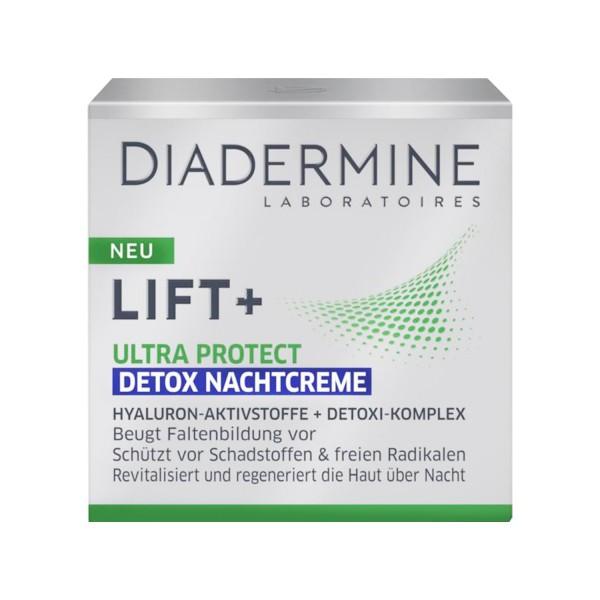2 x DIADERMINE LIFT+ Ultra Protect Detox Nachtcreme je 50ml Nachtpflege