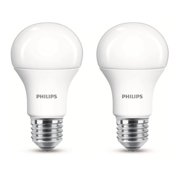 3x Philips LED 11 W (75 W) E27 Edisongewinde Warmweiß Licht Glühbirne 2 Stück A+