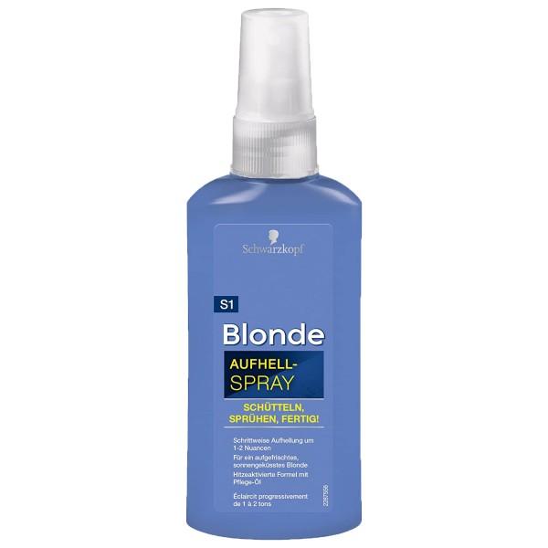 Schwarzkopf Blonde Aufhell-Spray 125 ml Aufhellung um 1-2 Nuancen