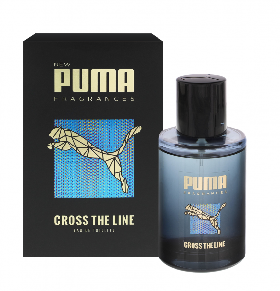 2 x Puma Eau de Toilette Cross The Line for Men jeweils 50ml