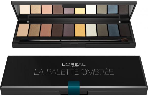 L\'Oreal Color Riche La Palette Ombrée Lidschatten-Palette