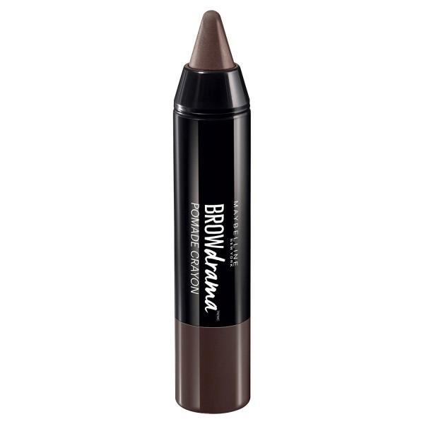 3x Maybelline Brow Drama Augenbrauen-Pomade-Stift Dark Brown