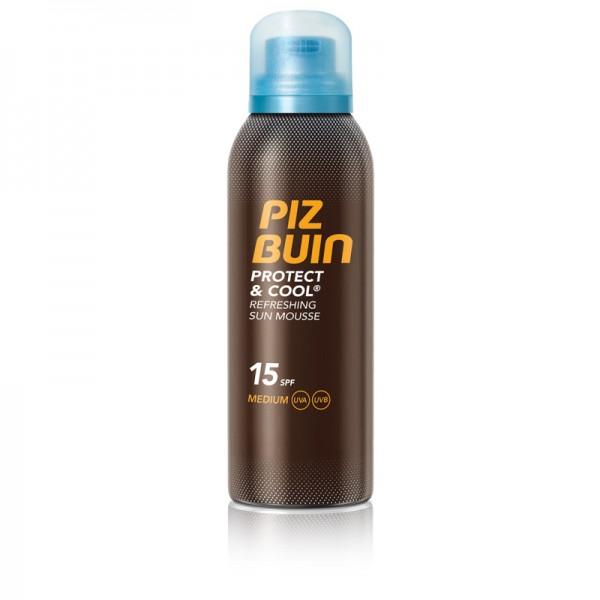 Piz Buin Protect & Cool Sonnen-Mousse 150ml LSF15