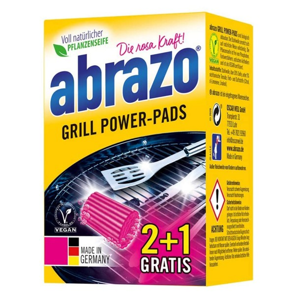 abrazo Grill & Backofen 3 Stück Extra Groß