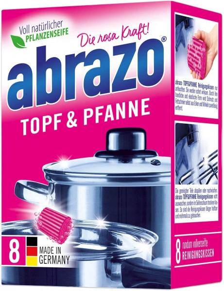 abrazo Reinigungskissen Topf & Pfanne 8 Stück