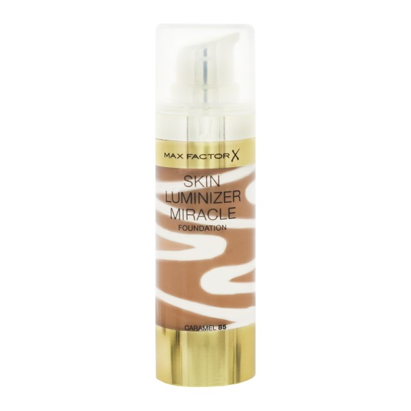 Max Factor X Skin Luminizer Miracle Foundation Caramel 85 30ml