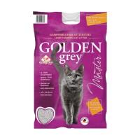 Golden Grey Master fein Katzenstreu Klumpstreu 14kg Babypuderduft + Silikat