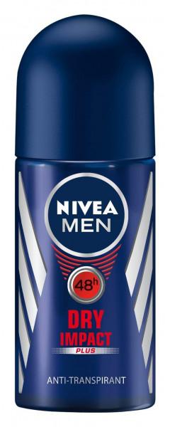 Nivea Men Dry Impact Plus Anti-Transpirant Deo Roller 50ml