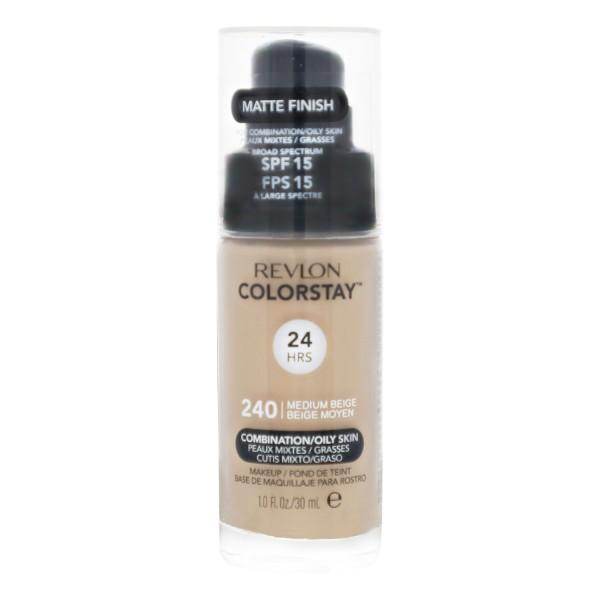 2 x Revlon ColorStay MakeUp Combination Oily Skin je 30 ml Medium Beige 240