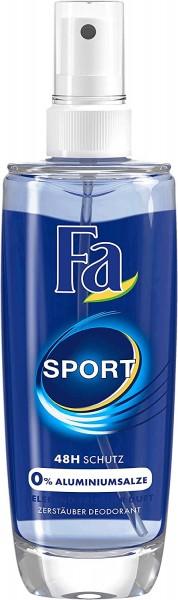 Fa Zerstäuber Deodorant Sport mit belebend-frischem Duft 48h Schutz 75ml