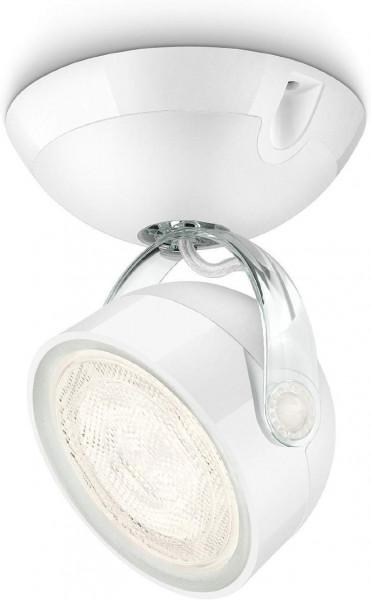 Philips myLiving Dyna LED Spot Leuchte Warm Weiß 1 x 3 Watt Farbe Weiß