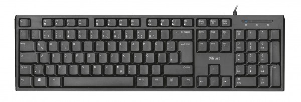 2 x Trust Vida Multimedia Keyboard Tastatur