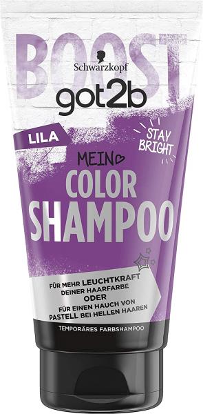 Schwarzkopf got2b Color Shampoo Lila 150ml Temporäres Farbshampoo