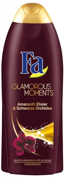Fa Schaumbad Glamorous Moments Amaranth Elixier & Schwarze Orchidee 500ml