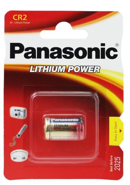 1 x Panasonic CR2 PHOTO Power Lithium Batterie