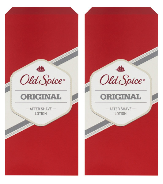 2 x Old Spice Original After Shave Lotion jeweils 150ml